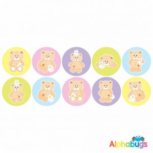 Themed Stickers – Beary Best Friends 1