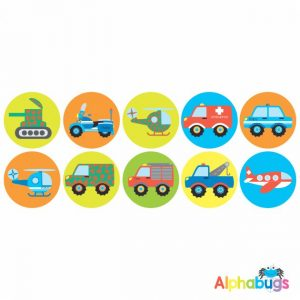 Themed Stickers – Bee-Baa Bee-Baa