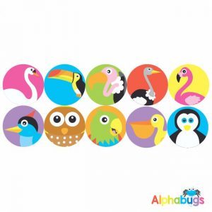 Themed Stickers – Birds of a Feather 2