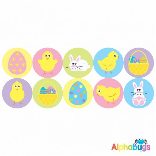 Themed Stickers – Easter Eggscapade
