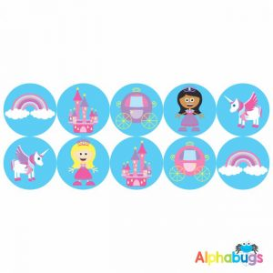 Themed Stickers – Fairy Princess 1