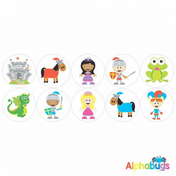 Themed Stickers – Fairytale Fantasy 1