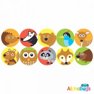 Themed Stickers – Forest Friends 2