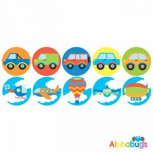 Themed Stickers – Going Places
