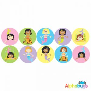 Themed Stickers – Magical Mermaids