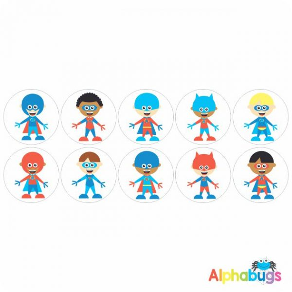 Themed Stickers – Superkids 1