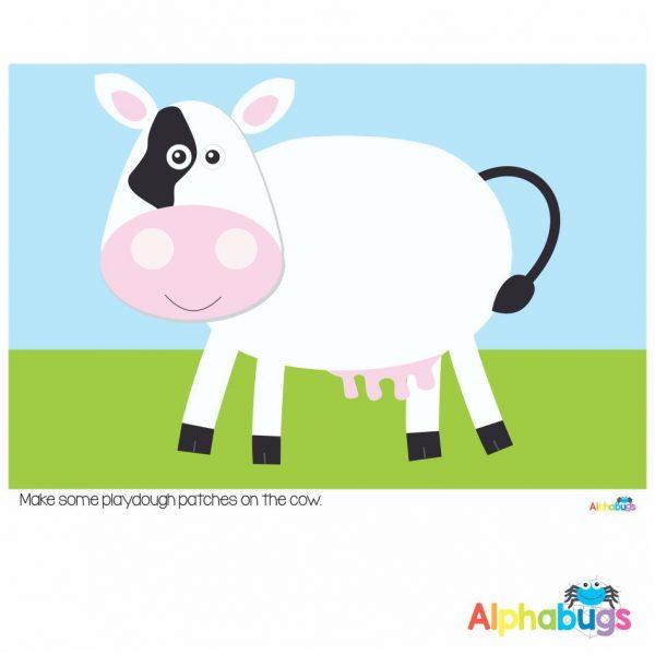 Playdough Mat – At the Farm 2