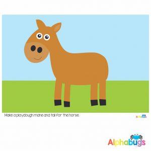Playdough Mat – At the Farm 3