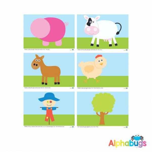 Playdough Mat – At the Farm – All