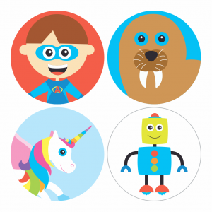 Themed Stickers