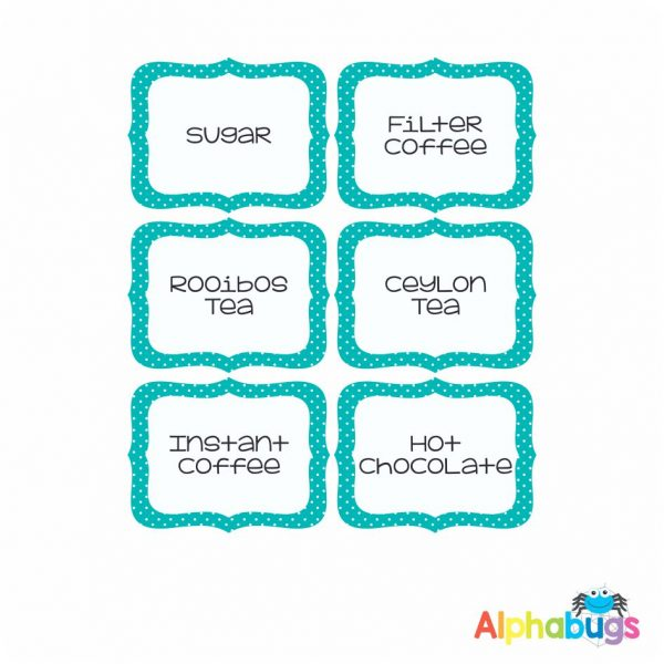 Canister Labels – Sew Nice