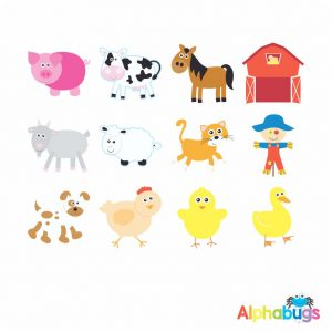 Character Cutouts – At the Farm