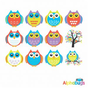 Character Cutouts – Bright Owls
