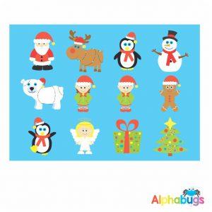 Character Cutouts – Christmas Characters