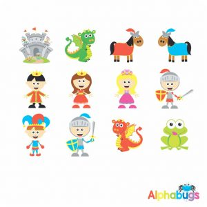 Character Cutouts – Fairytale Fantasy 1