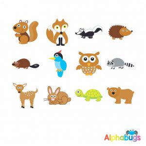 Character Cutouts – Forest Friends