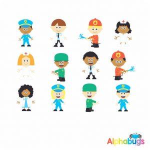 Character Cutouts – It's an Emergency