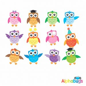 Character Cutouts – Wise Owls