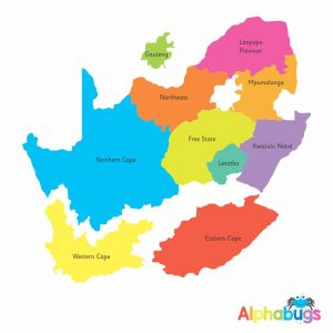 Edu Mag – SA Provincial Map
