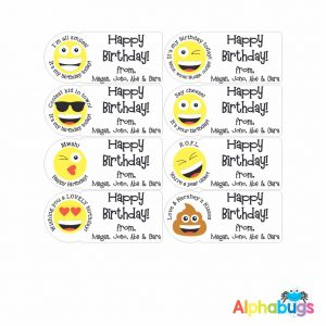 Gift Labels – Birthday Smiles