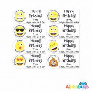 Gift Labels – Birthday Smiles