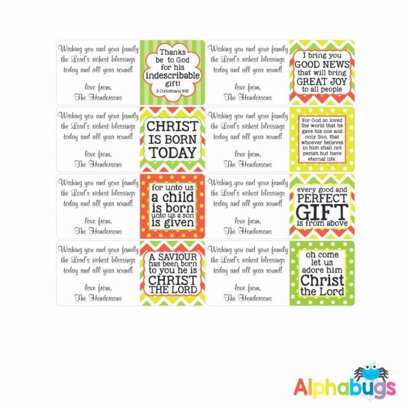 Gift Labels – Christian Quotes