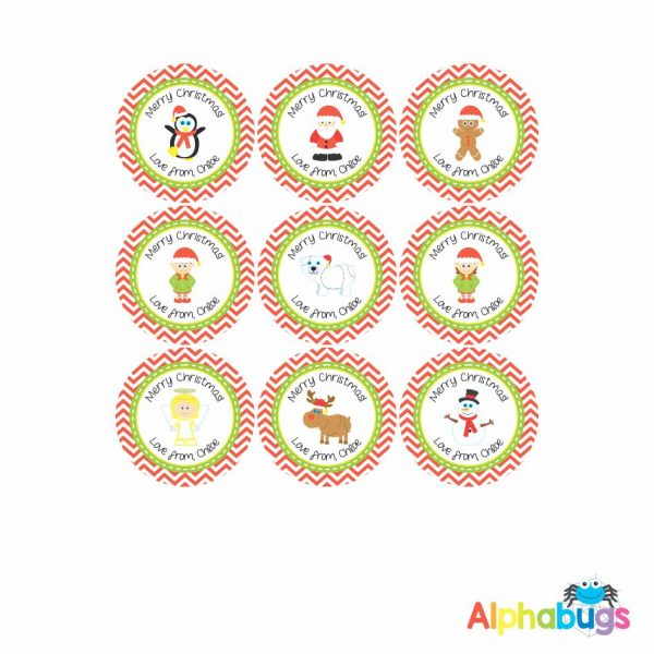 Gift Labels – Christmas Characters