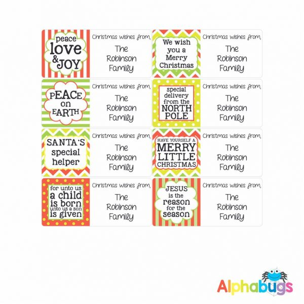 Gift Labels – Christmas Quotes
