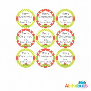 Gift Labels – Christmas Thyme
