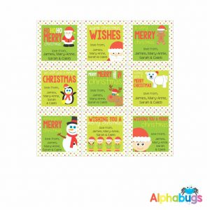 Gift Labels – Festive Friends