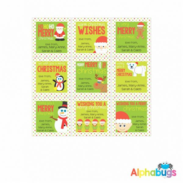 Gift Labels – Festive Friends