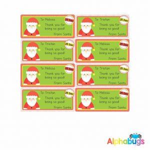 Gift Labels – Santa Surprise