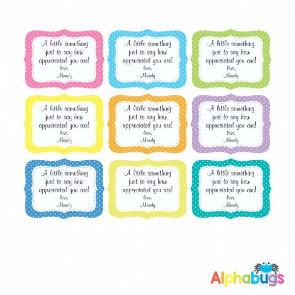 Gift Labels – Sew Nice