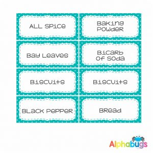 Kitchen Labels – Sew Nice