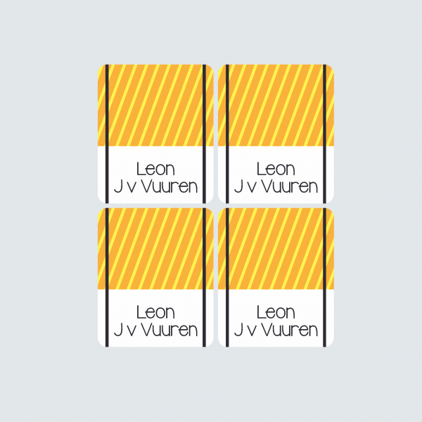 Pencil Wrap Labels – Boys at Work