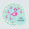 Bag Tag - Fab Flamingos