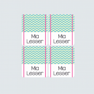 Pencil Wrap Labels – Fab Flamingos