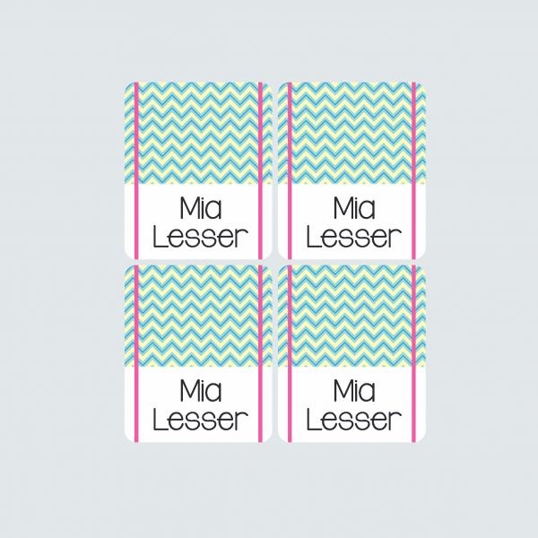 Pencil Wrap Labels – Fab Flamingos