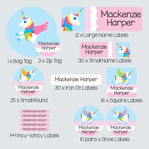 Ultimate Kids Label Pack – My Little Unicorn