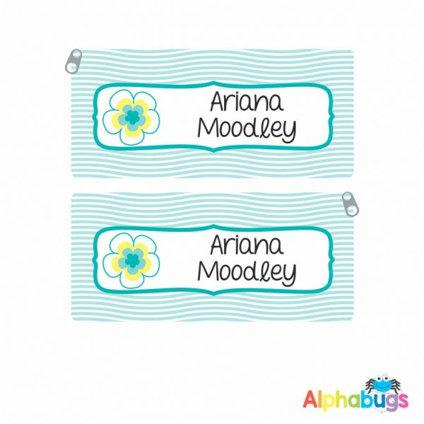 Pencil Case – Pacific Paradise Teal