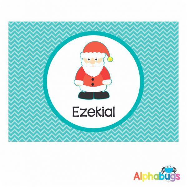 Placemat – Christmas Characters Santa