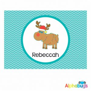 Placemat – Christmas Characters Rudolph