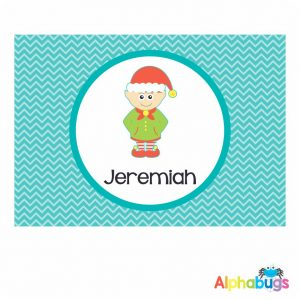 Placemat – Christmas Characters Elf