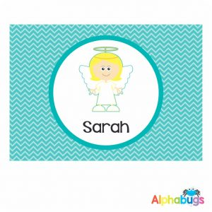 Placemat – Christmas Characters Angel