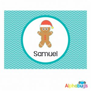 Placemat – Christmas Characters Gingerbread Man