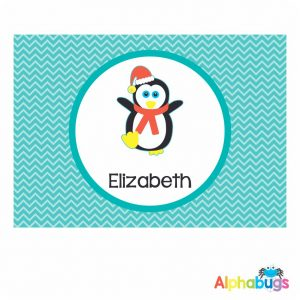 Placemat – Christmas Characters Penguin