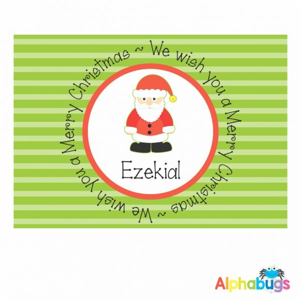 Placemat – Festive Friends Santa