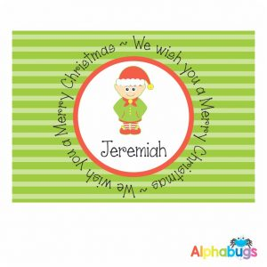 Placemat – Festive Friends Elf