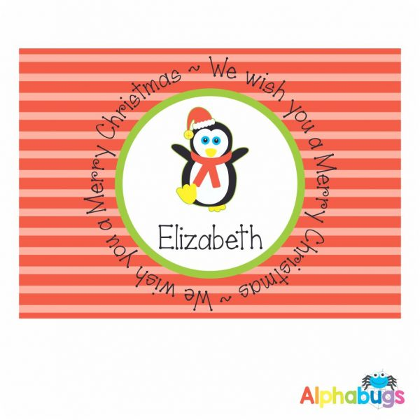 Placemat – Festive Friends Penguin