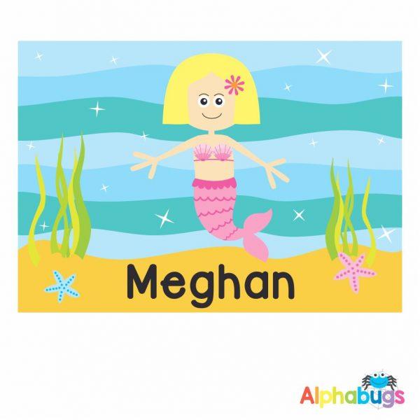 Placemat – Magical Mermaids Blonde